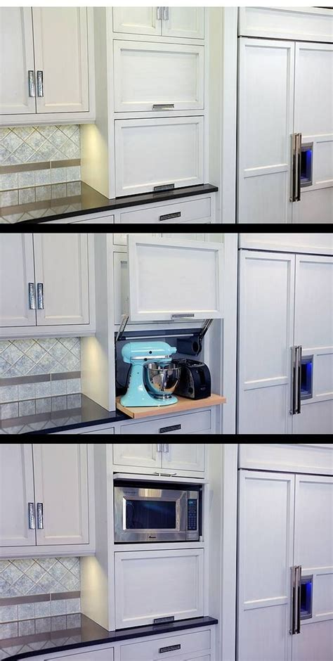 kitchen cabinets appliance garage 25 best ideas about appliance garage on pinterest