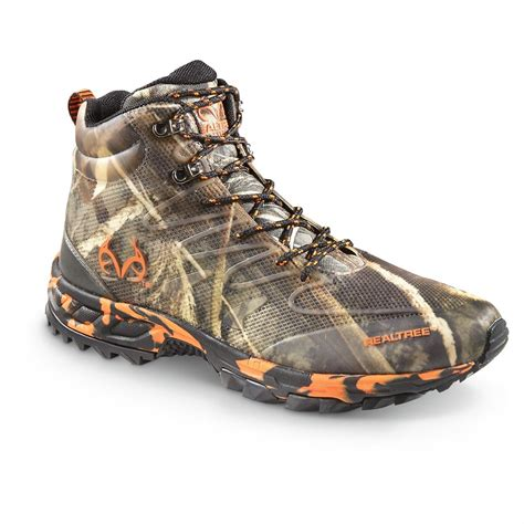 Outfitters Platform Shoe Boots by Realtree Outfitters Provo Mid Hiking Boots 652557