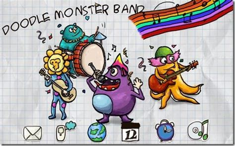 free doodle theme for blackberry doodle band theme free for one week mmmooo