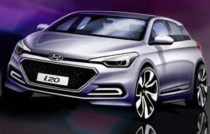 Lu Mobil Hyundai haber yeni hyundai i20窶冢in eskizleri yay莖nland莖 otomobil g 252 nl 252 茵 252