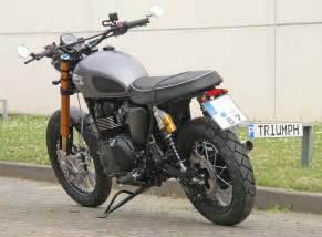 Honda Motorrad Werkstatt D Sseldorf by Details Zum Custom Bike Triumph Scrambler Des H 228 Ndlers