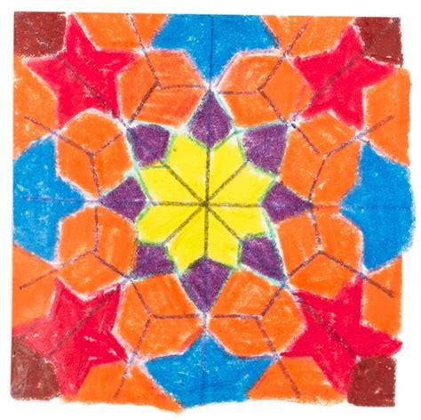 geometric pattern lesson plan zillij patterns crayola com