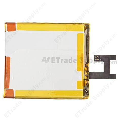 Battery Baterai Batre Sony Xperia Z L36h Oem T0310 sony xperia z l36h battery etrade supply
