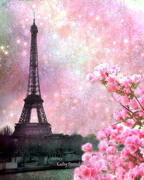 Home Of The Eifell Tower Photographie De Paris Eiffel Tower Printemps Rose Floral