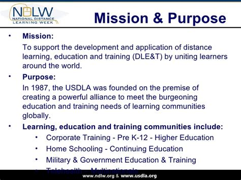 Distance Learning Mba Stanford by Higher Ed Ndlw Power Point Wimba Monday