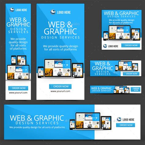 design banner online web design banners by doto graphicriver