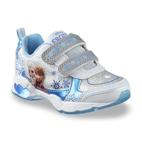 Light Up Toddler Shoes by Disney Toddler S Frozen White Blue Light Up Sneaker