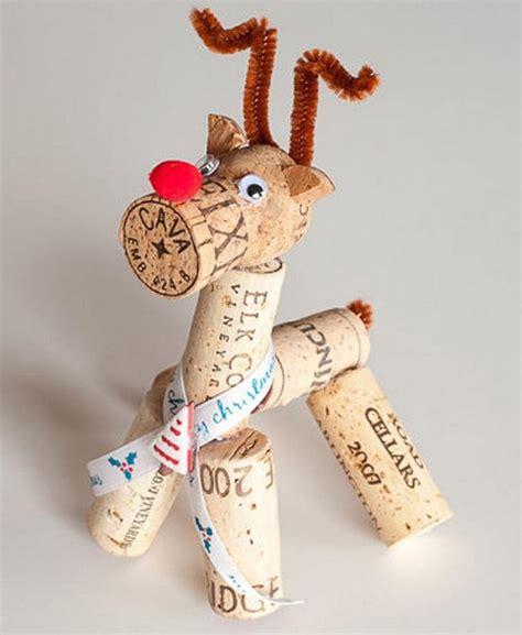 wine cork xmas crafts fir children wine cork crafts 20 brilliant decoration ideas