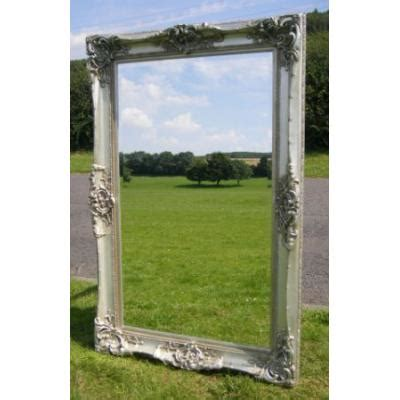 4ft X 3ft Frameless Mirror by 6ft Silver Monaco Decorative Mirror Ayers Graces