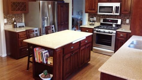 Updating Kitchen Cabinets Without Replacing Them by Cabinet Refacing And Refinishing Angie S List