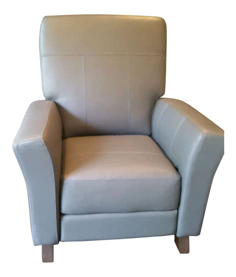 dutailier rocker recliner dutailier gray leather glider recliner chair chairish