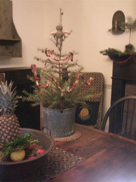 table top tree a primitive christmas pinterest