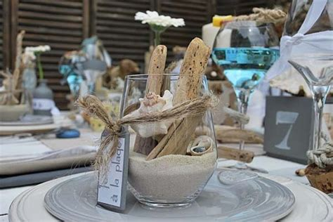 sand seashell and driftwood craft ideas table centerpieces