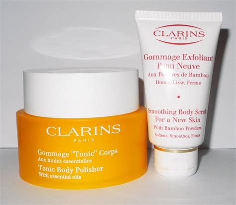 best clarins products clarins scrubs review toning polisher and