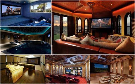 luxurious home theater setups   world