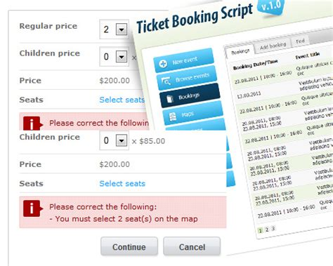 ticket booking ticket booking system free and software reviews