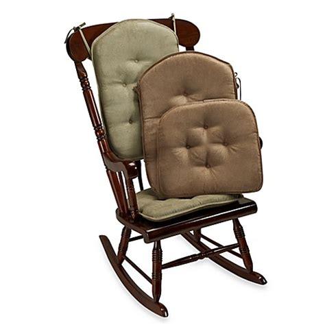 rocking chair pad set klear vu twillo 2 rocking chair pad set bed bath