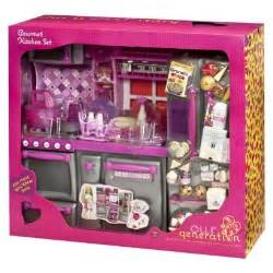Our Generation Kitchen Play Set Pink Our Generation Gourmet Kitchen Set
