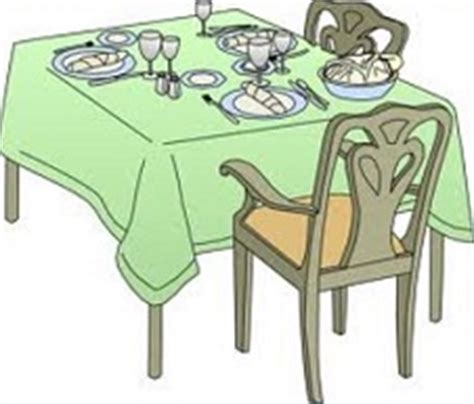 Clipart Dining Room by Free Dining Table Clipart
