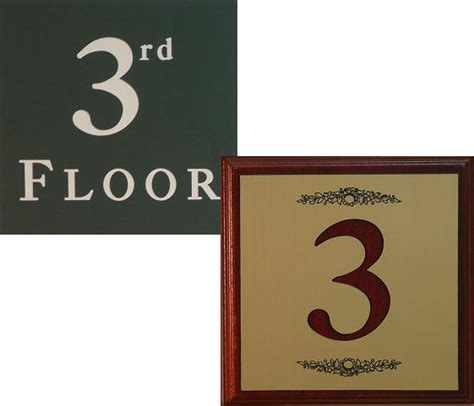 floor number signmakers on 1 800 932 0754