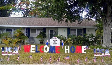welcome home military decorations 25 best ideas about welcome home surprise on pinterest