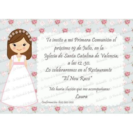 invitaciones primera comuni n tarjetas e invitaciones invitaci 243 n comuni 243 n ni 241 a vintage
