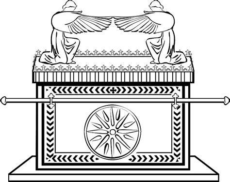 Ark Of The Covenant Coloring Page free coloring pages of ark of the covenant