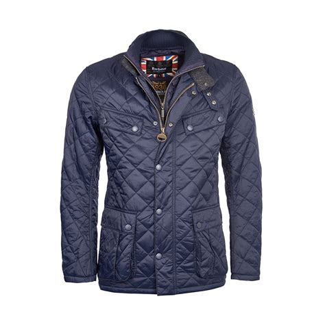 Quilted Clothing by Barbour International Windshield Tailored Fit Quilted Jacket Mens Coats Jackets O C Butcher