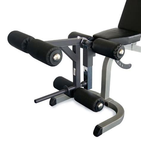 powerline weight bench powerline glda1 leg developer attachment for the powerline pfid130x bench weight benches