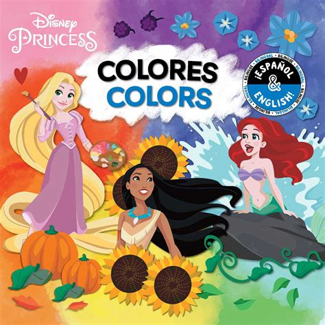 disney princess colors colors colores disney princess
