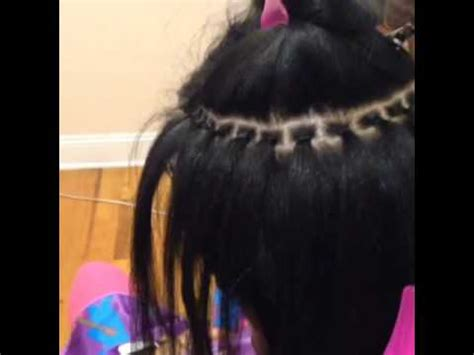 what hair is used for braidless sew in braidless sew in youtube