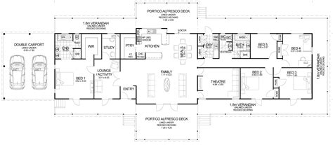 home layout plans floor plan friday the queenslander