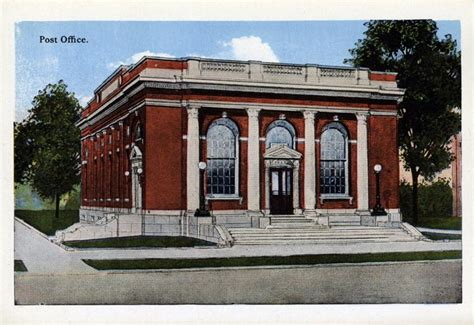 Olmsted Post Office by Untitled Document Postcards Sevenels Net