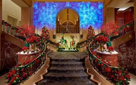 biggest christmas house nyc the best hotels for in new york telegraph travel