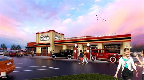 Garage Restaurant San Francisco by Car Themed Restaurant Ford S Garage Cruises Into Dearborn