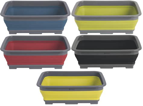 collapsible bowl outwell collaps collapsible cing kitchen washing up bowl ebay