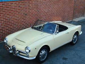 Alfa Romeo Giulia Spider Veloce 1965 Alfa Romeo 1600 Giulia Veloce Spider