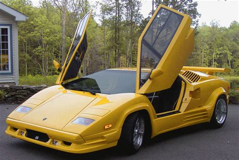 yellow lamborghini countach lamborghini countach 1974 1990 the hardyman files