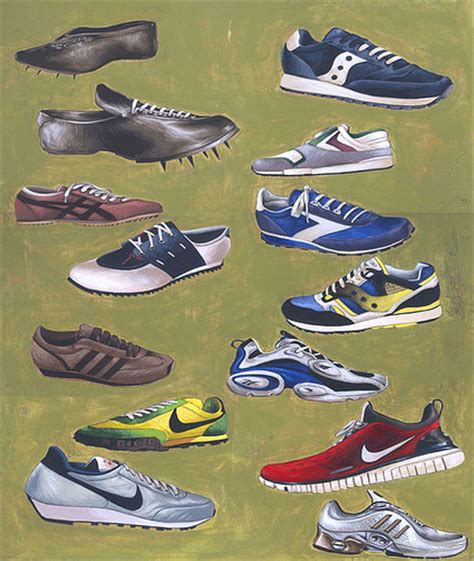 history of athletic shoes history of the running shoe flickr photo
