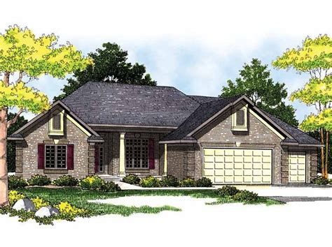 eplans ranch eplans ranch house plan hip traditional 2411 square