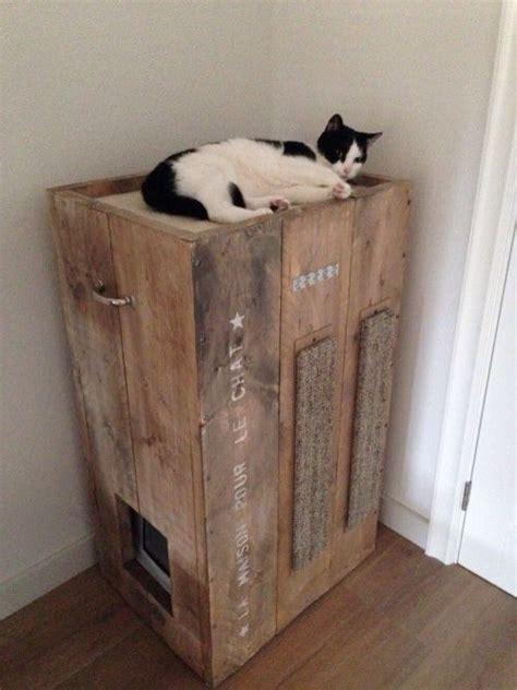 litter box furniture    entrance   top