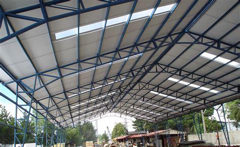 planchas para techos planchas de para techos muestra seccional de techo