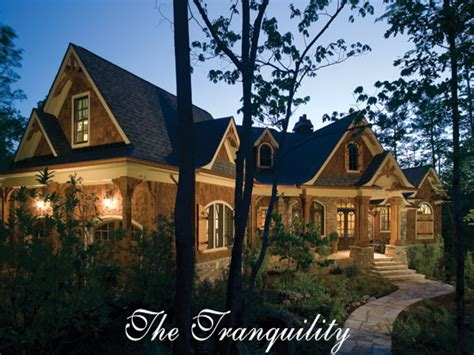 mountainside home plans tranquility homes the tranquility house plan luxury rustic