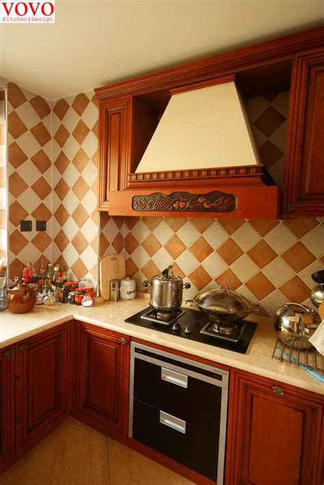 red cherry kitchen cabinets solid kitchen cabinets red cherry color on aliexpress com