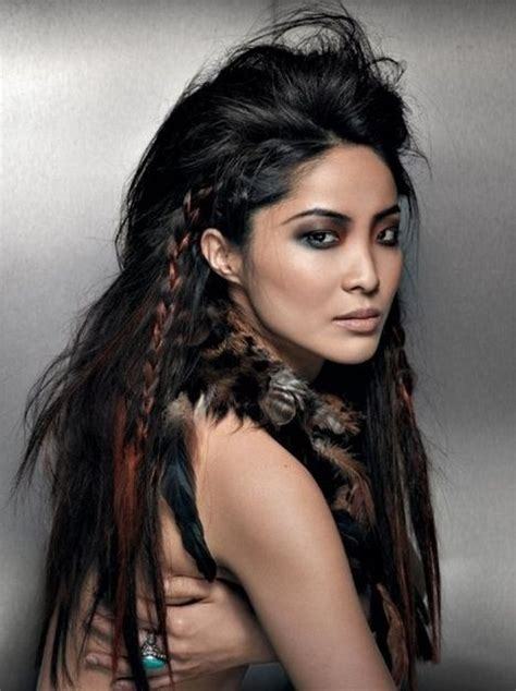 oldtime feather hair cut by mel c edgy braids tease the middle section of your