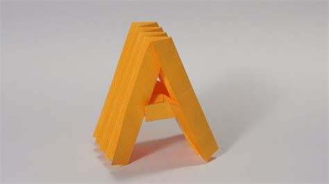 Medium Level Origami - 1000 images about alphabet origami on the