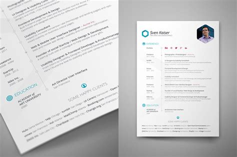 free resume template indesign free indesign resume template dealjumbo discounted