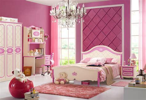 nobiliary design girls bedroom furniture set pink white mdkbrs