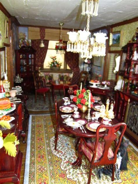 victorian dollhouse dining room victorian dollhouse