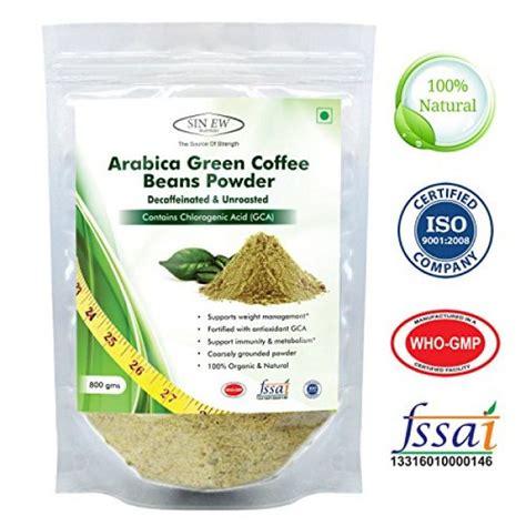 Green Coffee Premium Arabica Aceh compare buy sinew nutrition arabica green coffee beans powder 800gm decaffeinated unroasted